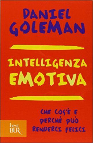 """Copertina del libro """"Intelligenza Emotiva"""" di Daniel Goleman - Riassunto"""
