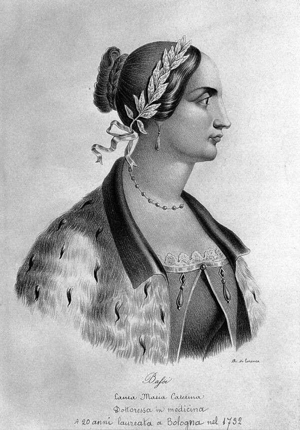 Immagine di Laura Maria Caterina Bassi (1711-78), matematica e fisica bolognese
