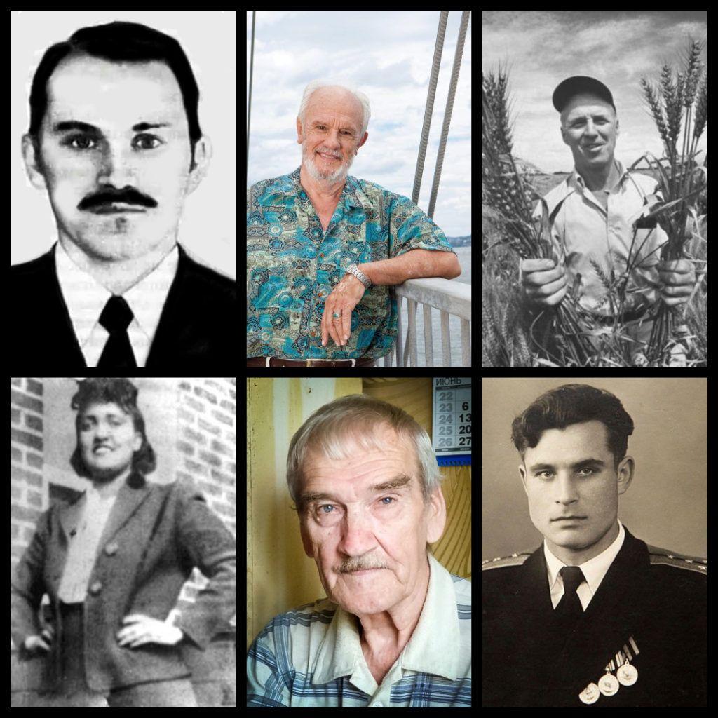 Un collage con le foto dei 6 veri eroi, o eroi della vita reale, che hanno davvero salvato il mondo