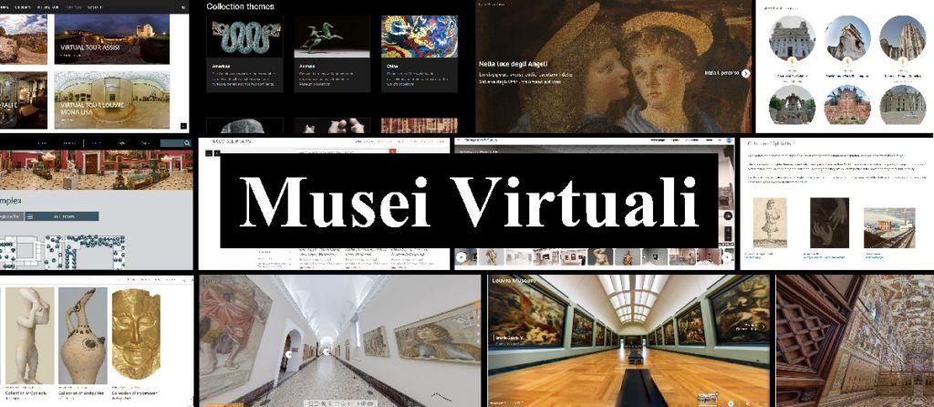 Musei Virtuali: Copertina dell'Articolo