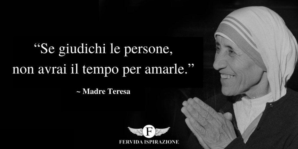 Una delle citazioni più belle di Madre Teresa di Calcutta
