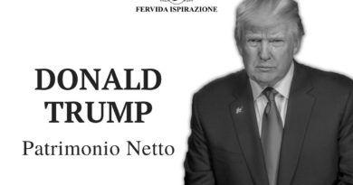 Donald Trump Patrimonio Netto Copertina Articolo