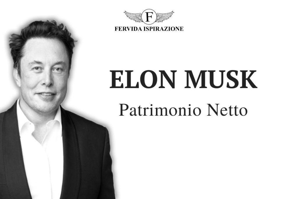 Elon Musk Patrimonio Netto (Copertina)