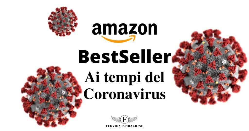 BestSeller di Amazon ai tempi del coronavirus - copertina articolo