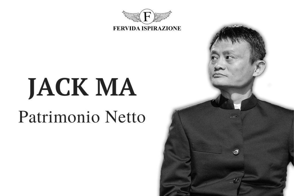 Jack Ma Patrimonio Netto - Copertina Articolo