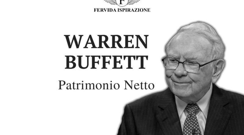 Warren Buffett Patrimonio Netto