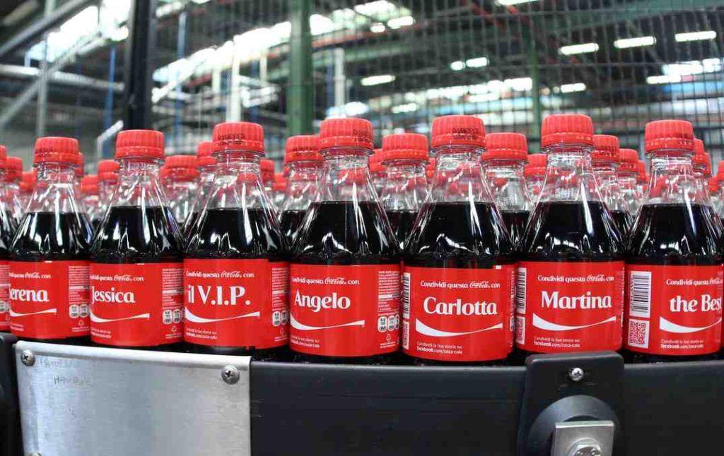 esperienza cliente personalizzata di coca cola
