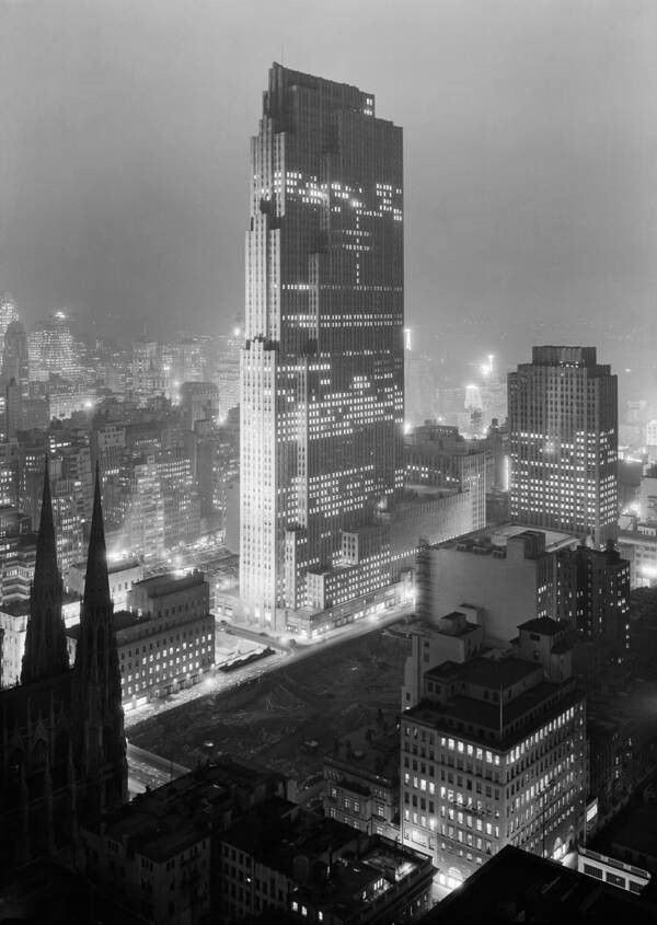 Rockefeller Center Construction