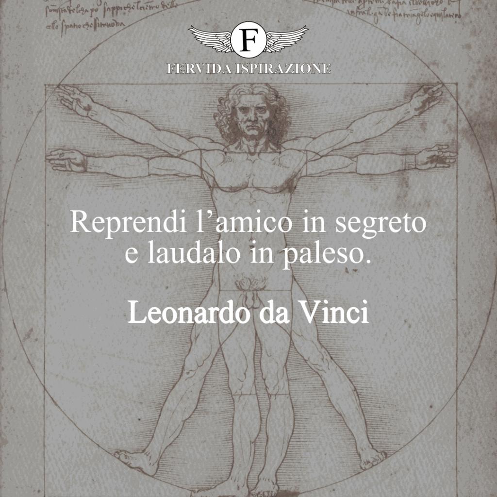 Frasi amici Leonardo da Vinci