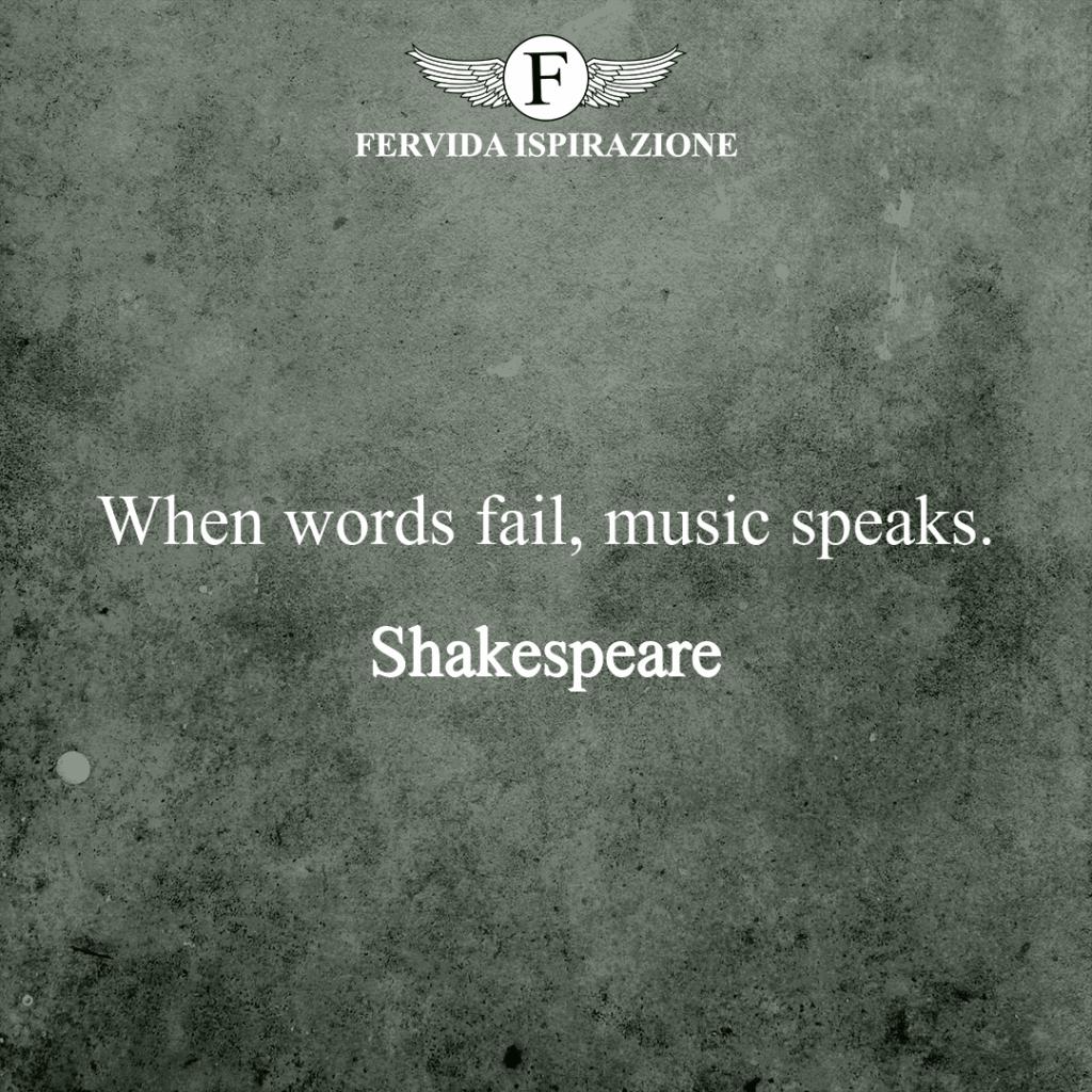 Frase di Shakespeare