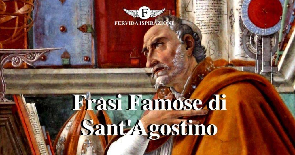 30 Frasi Famose di Sant'Agostino - Copertina Articolo - Fervida Ispirazione