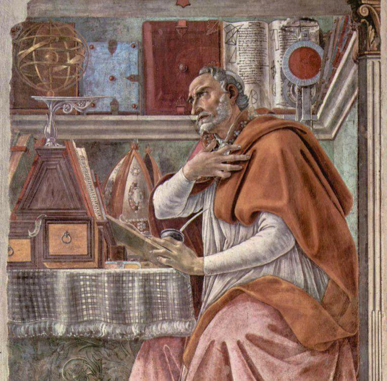 Sant ' Agostino - Agostino di Ippona