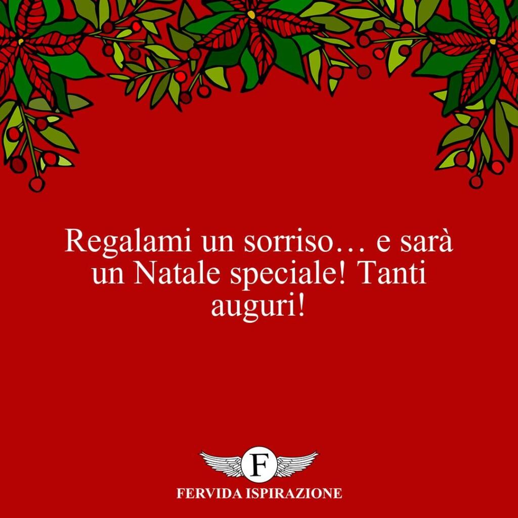 Regalami un sorriso… e sarà un Natale speciale! Tanti auguri!