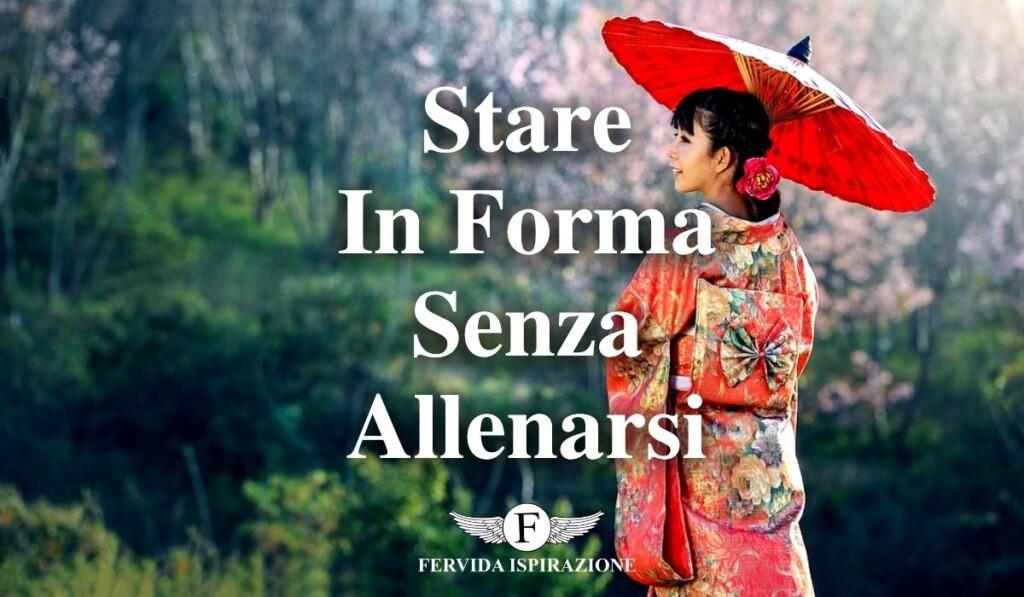 Stare In Forma Senza Allenarsi Palestra Giapponesi - Copertina Articolo - Fervida Ispirazione