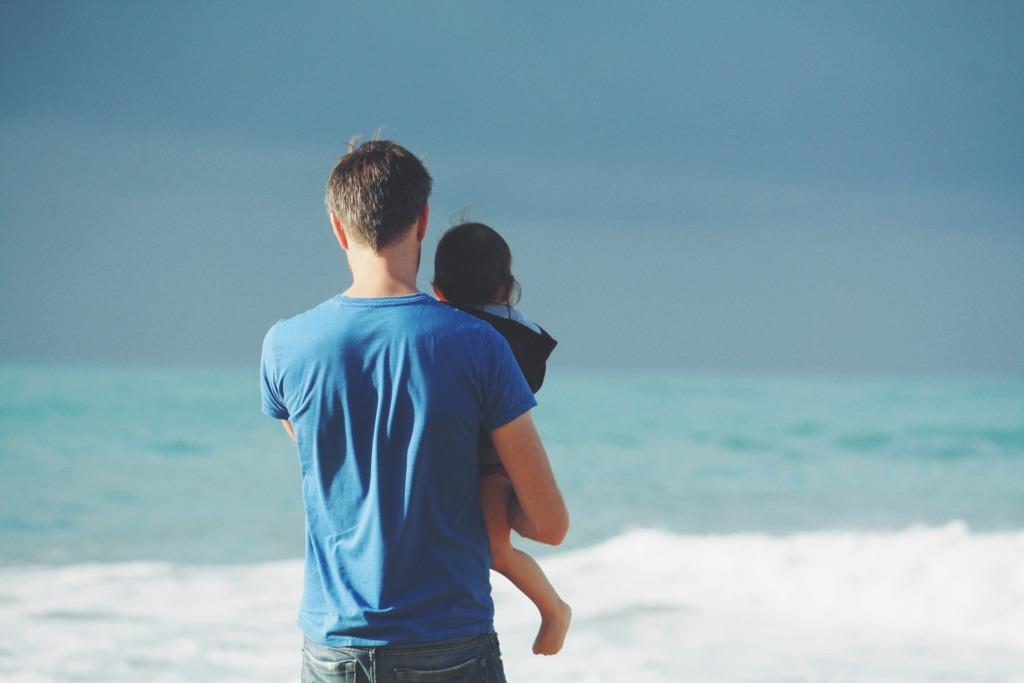 mare padre figlio figlia amore papà - frasi