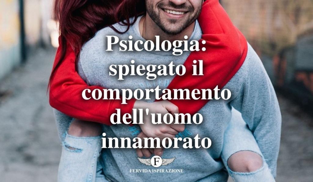 comportamento uomo innamorato psicologia